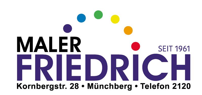 Maler Friedrich Logo